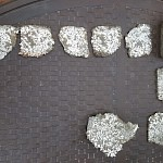 Multiple Silver Fragments